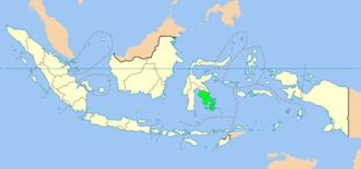 Southeast Sulawesi - Image: Indonesia South East Sulawesi