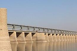Река Инд (синдху) - Kotri Barrage.jpg