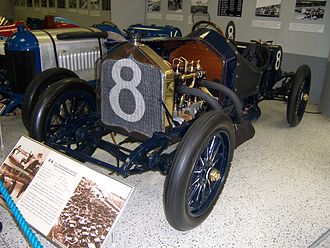 1912 Indianapolis 500 - Image: Indy 500winningcar 1912