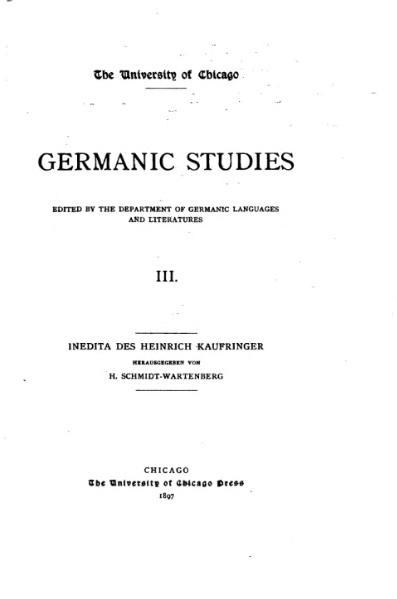 File:Inedita des Heinrich Kaufringer.djvu