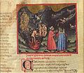 Inf. 06 Francesca da Rimini, Minosse giudica le anime, inizi sec XV,.jpg