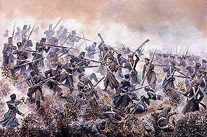 The 20th Foot at the Battle of Inkerman, Давид Роуландс