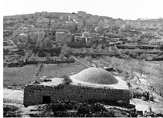 Innaba Place in Ramle, Mandatory Palestine