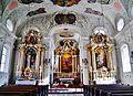 Innsbruck Spitalkirche Hl. Geist Innen Langhaus Ost 4.jpg