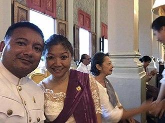 Norodom Ekcharin - Image: Inside royal palace phnom penh