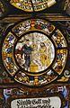 Interieur, glas-in-loodpaneel met gebrandschilderd glas, detail - Doorn - 20362570 - RCE.jpg