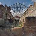 Interieur, overzicht grote hal. Daken zijn ingestort - Midwolda - 20378648 - RCE.jpg