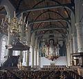 Interieur, overzicht naar westen met preekstoel en orgel - Monnickendam - 20383268 - RCE.jpg