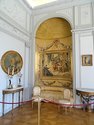 Alcove (architecture) - Alcove in the Villa Ephrussi de Rothschild