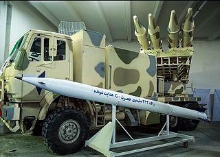 Fajr-5 rocket artillery