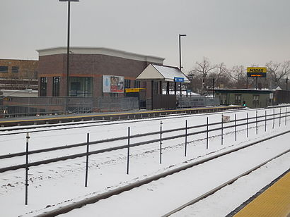 How to get to Irving Park Metra with public transit - About the place