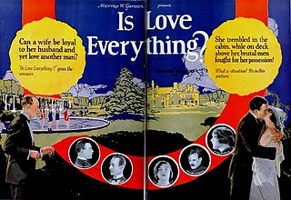 <i>Is Love Everything?</i> 1924 film directed by Christy Cabanne