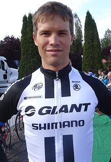 Reinardt Janse van Rensburg South African cyclist
