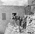 Israël 1948; Peki'in. Van de Polls vrouw Hildegard Eschen in Israël. 254-1928.jpg