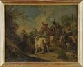 Italiensk boskapsdrift (Ernestine von Grisheim) - Nationalmuseum - 15998.tif