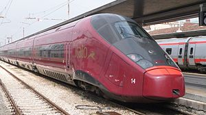 High-speed rail in Italy - AGV 575 ''Italo'' (NTV)