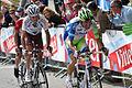 Ivan Basso, Hubert Dupont et Levi Leipheimer (5977457147).jpg