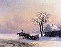 Ivan Constantinovich Aivazovsky - Winter Scene in Little Russia.JPG