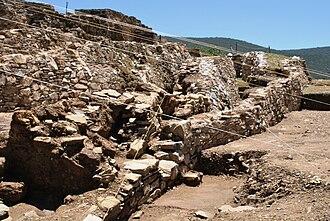 Ixcateopan de Cuauhtémoc - Part of the archeological site