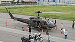 JGSDF UH-1J(41894) right front top view at Amagasaki Port July 9, 2017 01.jpg
