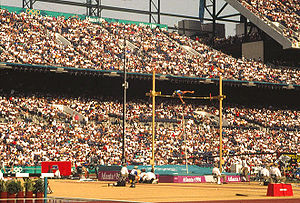 Athletics at the 1996 Summer Olympics – Men's pole vault - Igor Potapovich in Atlanta