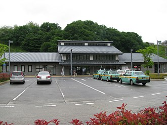 Miharu Station - Miharu Station in May 2008