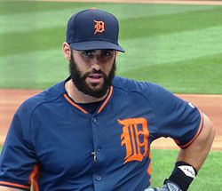J D Martinez With The Tigers