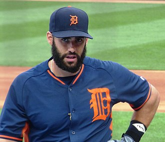 J. D. Martinez - J. D. Martinez with the Tigers