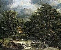 Jacob van Ruisdael - Forest Landscape with Waterfall.jpg