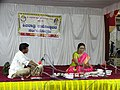 Jaltarang music concert by Vidushi Shashikala Dani at Shivratri Utsav Siddharoodh Math Hubballi.jpg