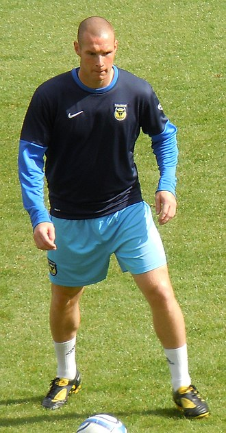 James Constable - Constable playing for Oxford United in 2010