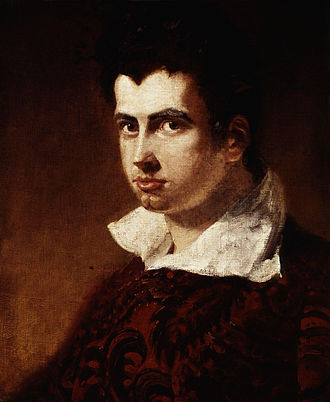 Leigh Hunt -  Leigh Hunt, Portrait by Benjamin Robert Haydon.