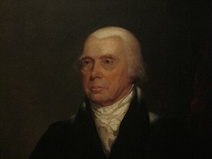 Chester Harding (painter) - Harding's painting of James Madison (1829)