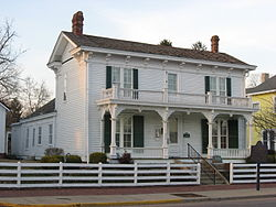 James Whitcomb Riley Birthplace, southwestern angle.jpg