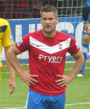Jamie Reed (footballer) - Reed playing for York City in 2011