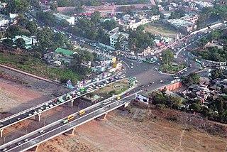 Jammu City in Jammu and Kashmir, India