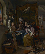 Jan Steen - The Drawing Lesson - 83.PB.388 - J. Paul Getty Museum.jpg