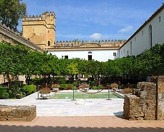 San Basilio, Córdoba - Image: Jardins Alcazar reyes cristianos 1