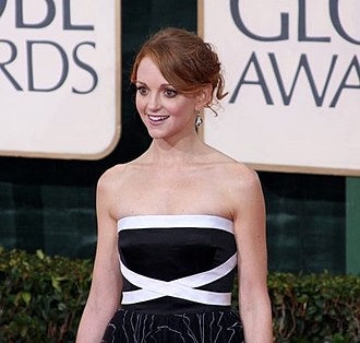Jayma Mays - Mays at the 67th Golden Globe Awards