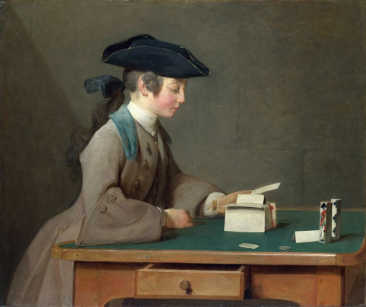 File:Jean-Baptiste-Siméon Chardin, The House of Cards, 1736-37.jpg