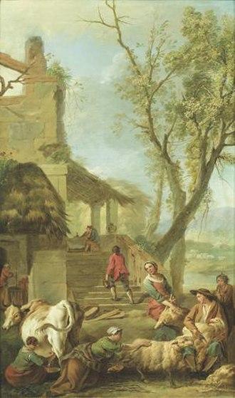 Jean-Baptiste Marie Pierre - Image: Jean Baptiste Marie Pierre Les Saisons