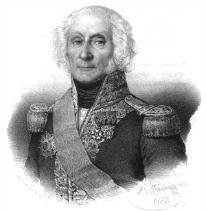 Jean-Baptiste Philibert Willaumez - Portrait by Antoine Maurin