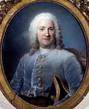 Jean Pâris de Monmartel - Portrait of Jean Pâris de Montmartel, by Maurice Quentin de La Tour. 1746