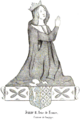 Jeanne II, comtesse de Bourgogne, Reine de France.png