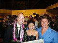 Jeff Rowley, Minnie Vuong, Dave Wassel 2012.jpg