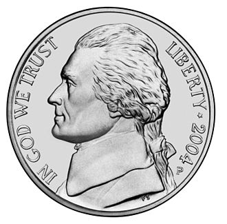 Coins of the United States dollar - Image: Jefferson Nickel Unc Obv