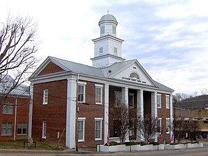 Jefferson County Courthouse in Dandridge