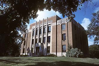 Wessington Springs, South Dakota - Jerauld County Courthouse in Wessington Springs