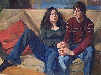 Jerry Weiss (artist) - Image: Jerry Weiss, Expectation Wendy and Adrian