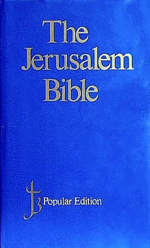 Jerusalem Bible - Image: Jerusalem Bible
